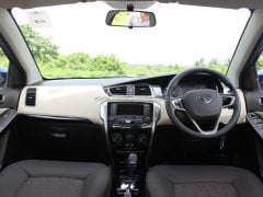 2014 Tata Zest Interior Dashboard