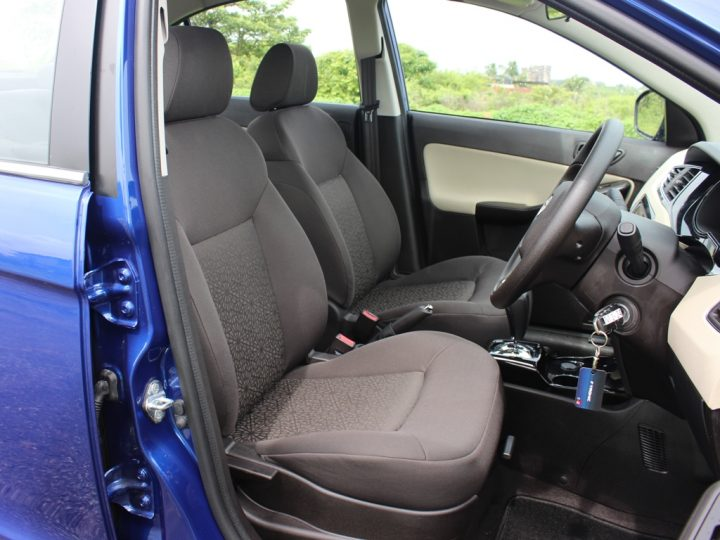 2014 Tata Zest Interior Front Seats