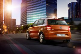 2014 Volkswagen Polo Rear Left Quarter