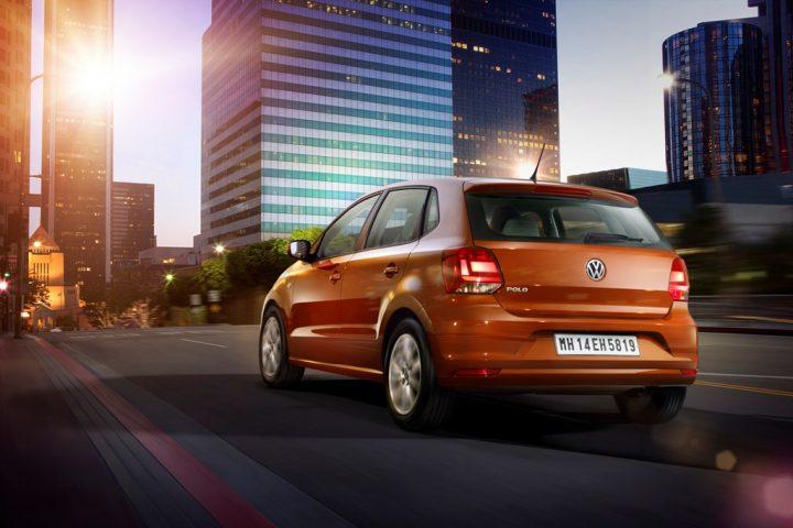 2014 Volkswagen Polo Rear Left Quarter
