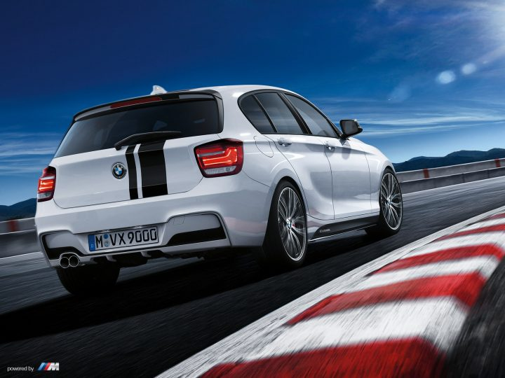 BMW 1-Series M Performance Edition Rear Right Quarter