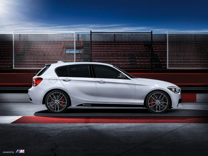 BMW 1-Series M Performance Edition Right Side