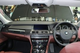 BMW ActiveHybrid 7 Interior Dashboard