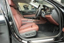 BMW ActiveHybrid 7 Interior Front Cabin