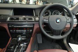 BMW ActiveHybrid 7 Interior Steering