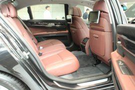 BMW ActiveHybrid 7 Rear Cabin