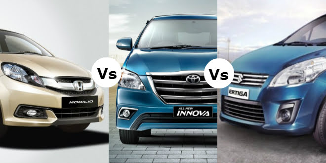 Car Buying Guide: Best MPVs To Buy – Mobilio vs. Ertiga vs. Innova