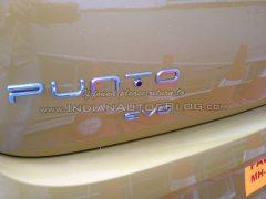 Fiat Punto Evo Badge
