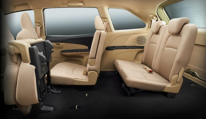 Honda Mobilio Interior Cabin 2nd and 3rd Row