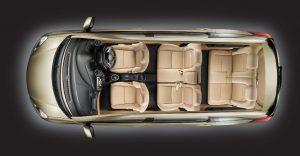 Honda Mobilio Interior Cabin Top Angle