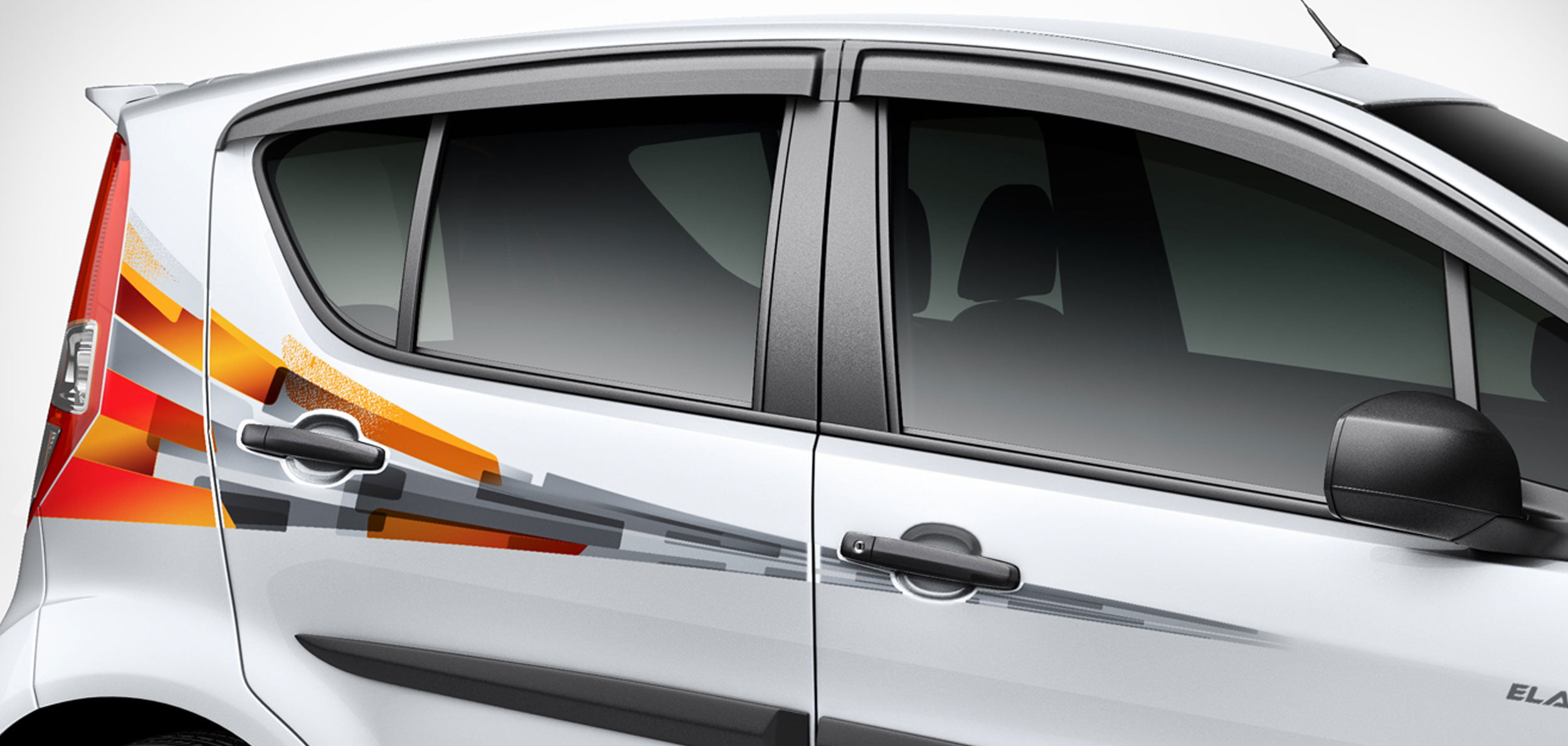 Maruti Suzuki Ritz Elate Special Edition Launched In India - Car body graphics for alto