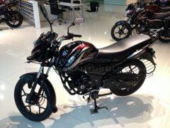 New-Bajaj-Discover-150-S-front-three-quarter