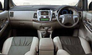 Toyota Innova Interior Front Dashboard E