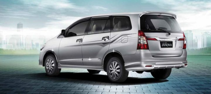 Toyota Innova Rear Left Quarter E