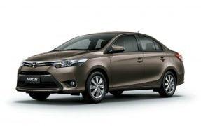 Toyota Vios Front Left Quarter