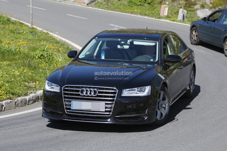 SPIED: Next Generation Audi A8 Test Mule, Expected Debut By 2016-17