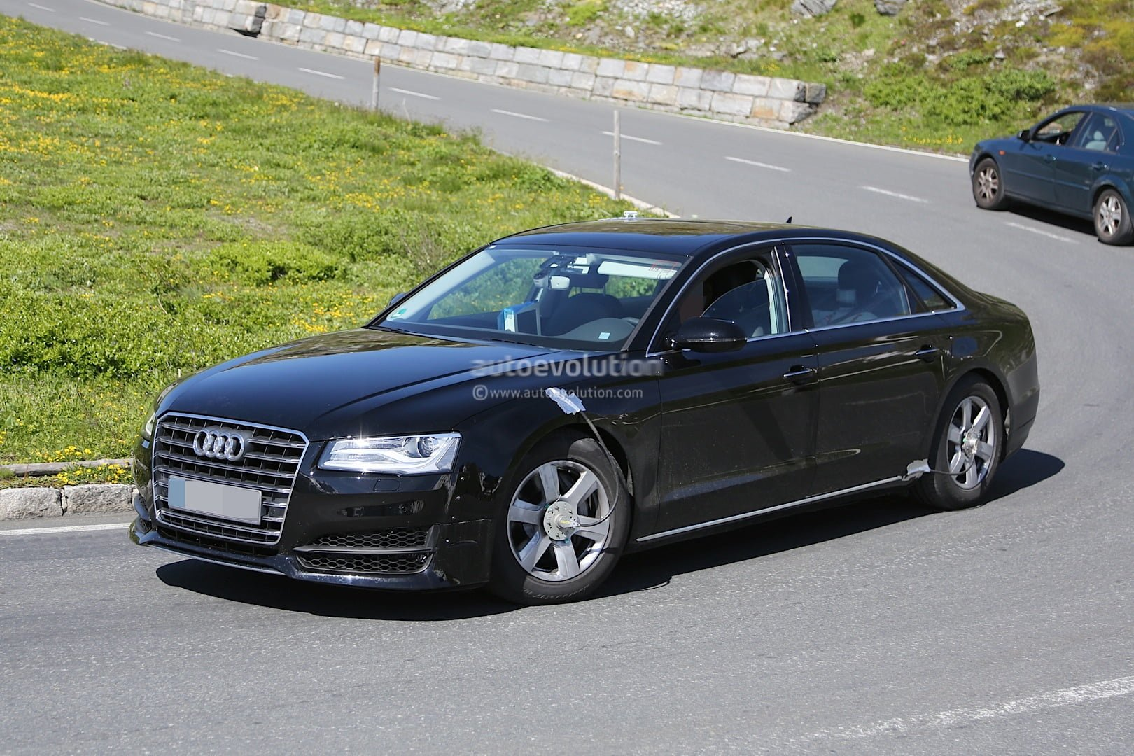 Spyshots All New Audi A8 For 2016 Captured In First Photos