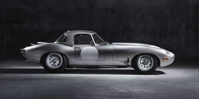 The 2014 Jaguar Lightweight E-Type Unveiled