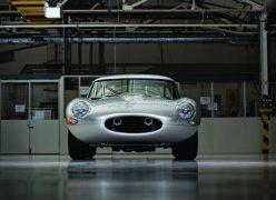 2014 Jaguar Lightweight E-Type Front Low Angle