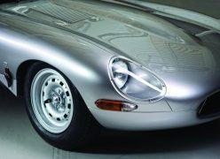 2014 Jaguar Lightweight E-Type Headlight and Front Wheel