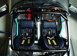 2014 Jaguar Lightweight E-Type Interior Cabin Top Angle