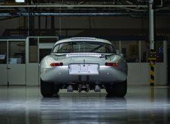 2014 Jaguar Lightweight E-Type Rear Low Angle