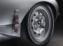 2014 Jaguar Lightweight E-Type Wheel and Hood Buckle
