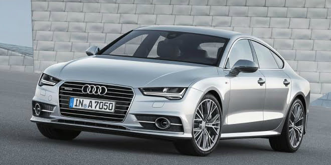 SPIED: Audi A7 Sportback Facelift Being Tested In India