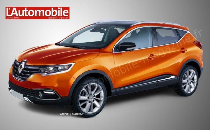 2015 Renault Koleos Render Front Left Quarter