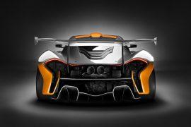 2016 McLaren P1 GTR Concept Rear