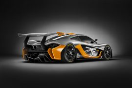 2016 McLaren P1 GTR Concept Rear Right Quarter