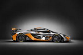 2016 McLaren P1 GTR Concept Right Side Profile
