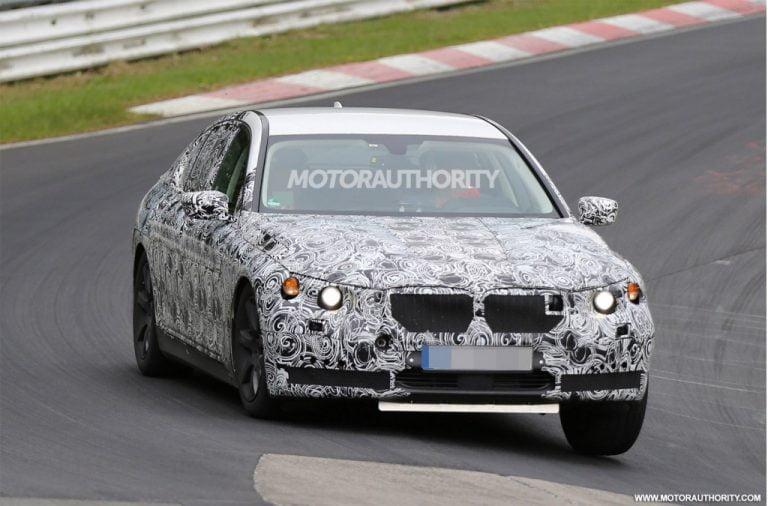2016 BMW 7-Series Testing Begins
