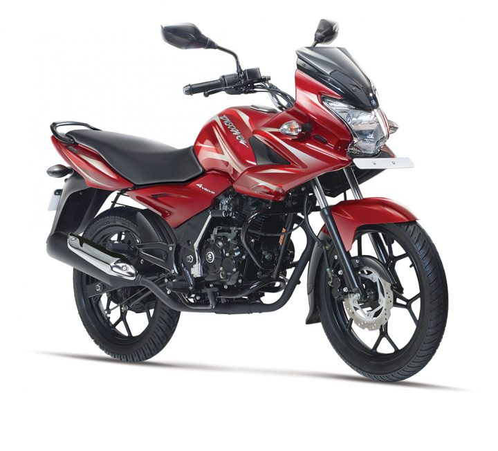 Bajaj Discover 150F Front Right Quarter