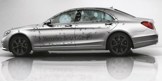 The Tank-Like Mercedes-Benz S-Class Guard Enters Production