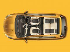 Fiat Punto Evo Interior Cabin Top Angle