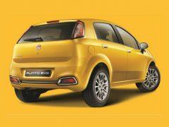 Fiat Punto Evo Rear Right Quarter 2