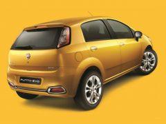 Fiat Punto Evo Rear Right Quarter