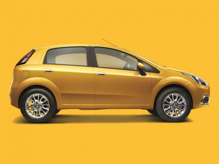 Fiat Punto Evo Right Side Profile