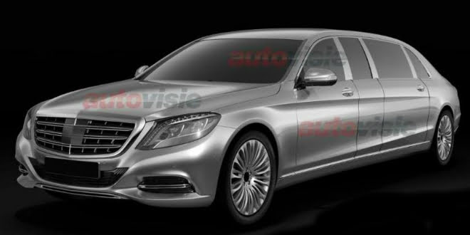 Mercedes Benz S-Class Pullman Patent Photos Leaked
