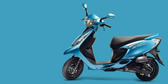 New TVS Scooty Zest 110 Launched