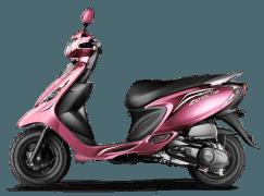 Scooty Zest 110 Powerful Pink
