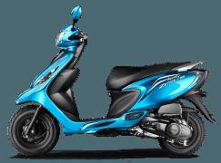 Scooty Zest 110 Terrific Turquoise