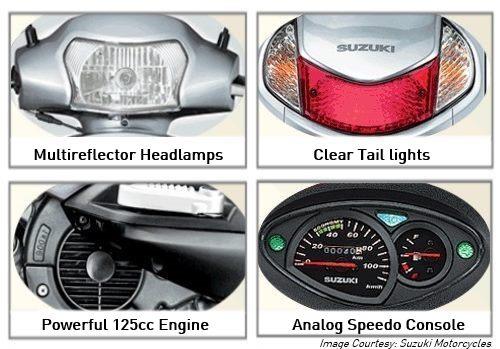 Suzuki Access 125 Additional Features