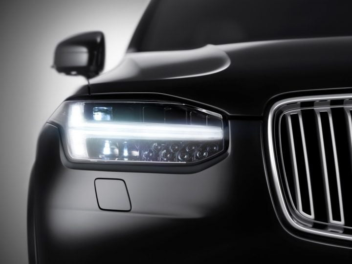 Volvo XC90 Teaser Headlight