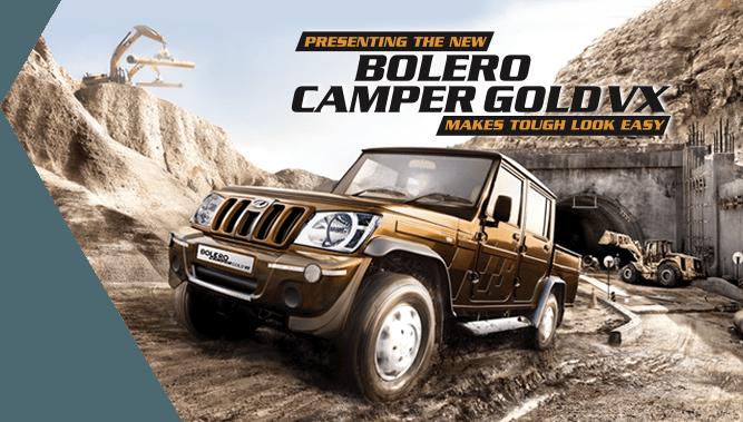 Launched The Mahindra Bolero Camper Gold Vx