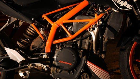 ktm 390 adventure engine