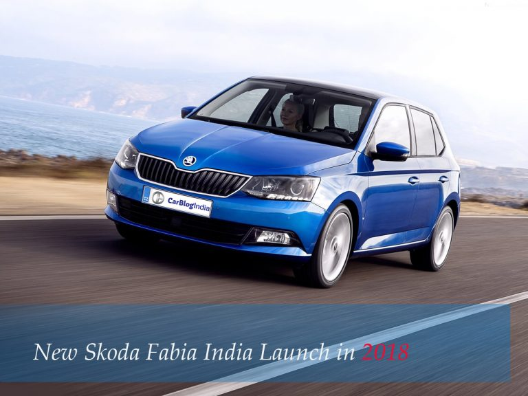 New Skoda Fabia India Launch In 2018?
