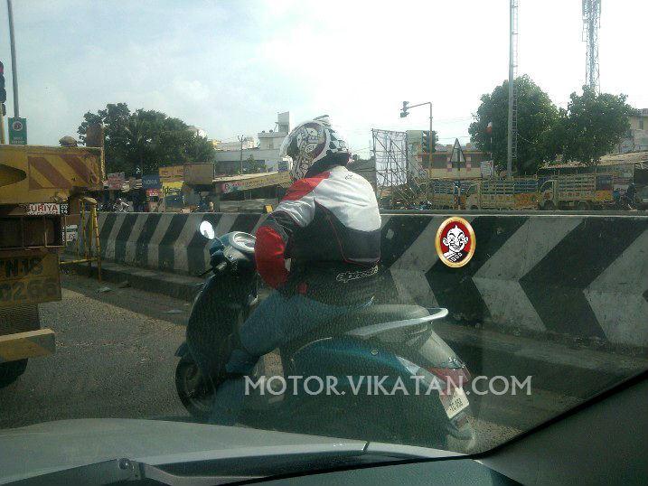 yamaha-125cc-scooter-rear