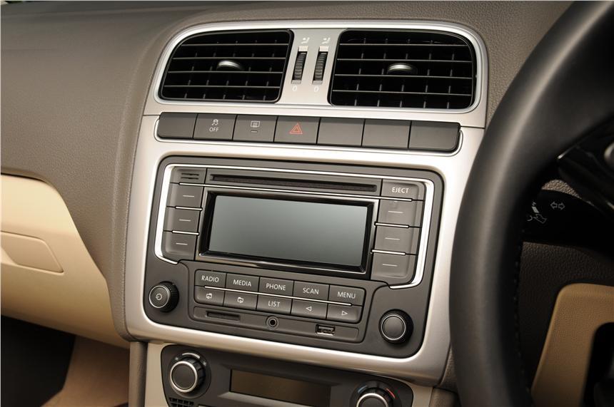 Мультимедийная система Volkswagen Vento